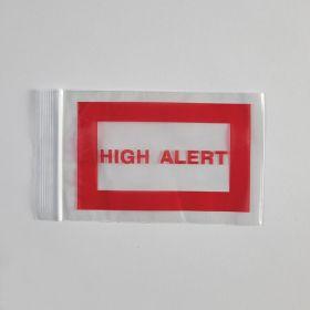 High Alert Bags, 4 x 6