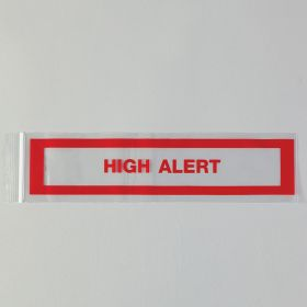 High Alert Bags, 3 x 12