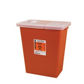 Sharps Containers, 8-Gallon, Case