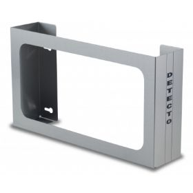 Glove Box Holder Vertical Mounted 3-Box Capacity Silver 4 X 10 X 18 Inch