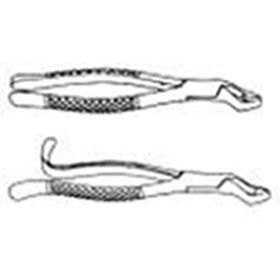 Extracting Forceps, Molars, Hook Handle