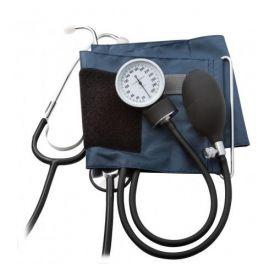 Aneroid Sphygmomanometer Blood Pressure Kit, Large Adult, Navy