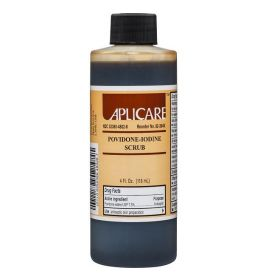Povidone Iodine Iodophor Scrub Kit, 4-oz. Bottle