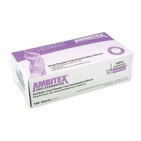 Vinyl, Non-Sterile Latex-Free, Powder-Free Glove AXL201MED