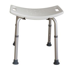 Essential Medical Supply B3002-S Deluxe Shower Bench-White