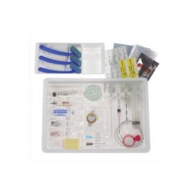 """Pencan Spinal Anesthesia Tray with Bupivacaine 0.75%, Dextrose 8.25% and DuraPrep, 24G x 4"""", Sterile,BMG333867H"""