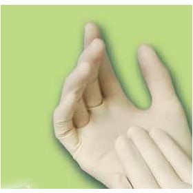 Latex Textured Exam Gloves BOS7110403Z
