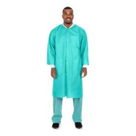 Premium Knee Length Lab Coat by Cardinal
