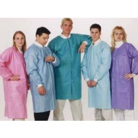 ValuMax Extra-Safe Knee-Length Lab Coats by Cardinal Health