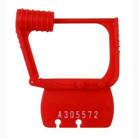 Detecto CAPS Plastic Seals-Red
