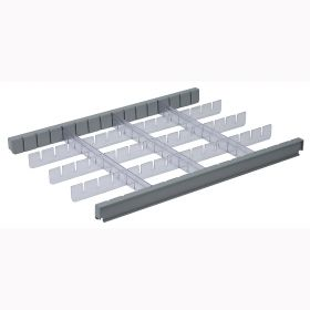Detecto CARCDS3 3 Inch Drawer Divider Set for Rescue Cart