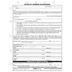 Notice of Transfer or Discharge CFS2-1