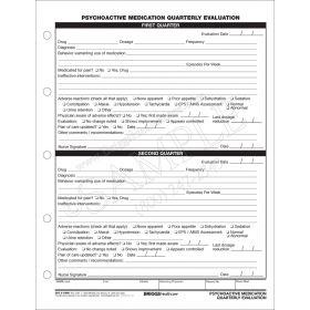 Psychoactive Med Quarterly Evaluation CFS3-10HH