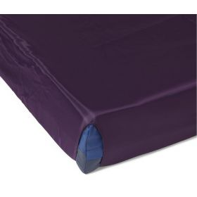 """Comfort Glide Reusable Fitted Sheet, Polyester, Purple, 42"""" x 80"""""""