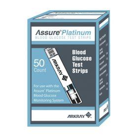 Assure Platinum Blood Glucose Test Strips, 50/Bx