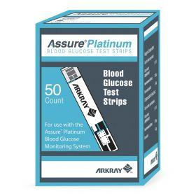 Assure Platinum Blood Glucose Test Strips, 50/Bx CMD500050Z
