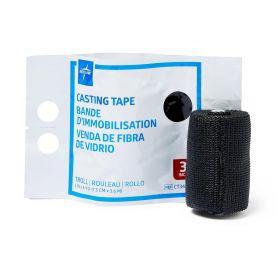 Lightweight Fiberglass Cast Casting Tape CT34BLK