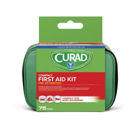 CURAD 75 Piece Compact First Aid Kit