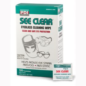 Professional Disposables D19831 Eye Glass Wipes-120/Box