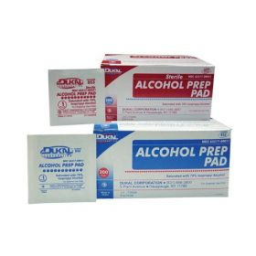 Sterile 2-Ply Alcohol Prep Pads, Medium