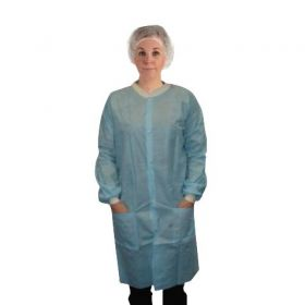 Snap Pocket Lab Coats by