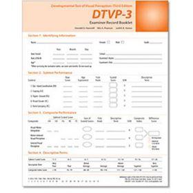 DTVP-3: Examiner Record Book (25)