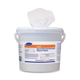 """Avert Sporicidal Disinfectant Wipes, 11"""" x 12"""", 160-Count"""