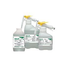 Disinfectant Cleaner, Accelerated Hydrogen Peroxide, All-in-One, Multisurface, J-Fill, 2.5 L