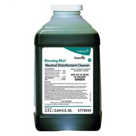 Morning Mist Neutral Disinfectant Cleaner, 2.5 gal.