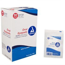 Sterile Oval Eye Pads by Dynarex DYA3360