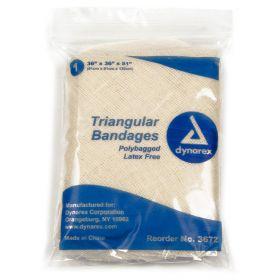 Triangular Bandages / Dressing by Dynarex Corporation DYA3672