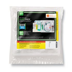 Silvertouch  Hundred Percent Silicone 1-Layer Foley Catheter Tray   Drain Bag-DYND160416H