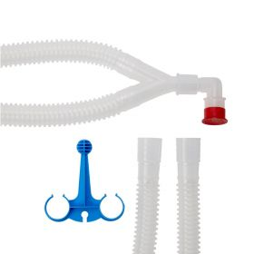 Adult Nonheated Ventilator Circuit with Bifurcated Wye DYNJ300