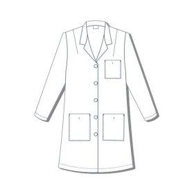 Lab Coat, Princess Style, Women's, Bust 33, Size 4