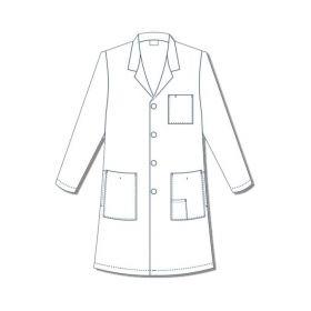Encompass Men s Reusable Lab Coats ECG47406W42