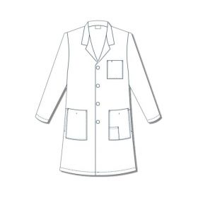 Encompass Men s Reusable Lab Coats ECG47406W50