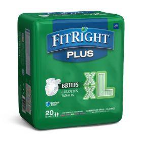 FitRight Plus Incontinence Briefs-FITPLUSXXLZ