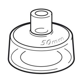 Resuscitation Mask, Neonatal, 50 mm