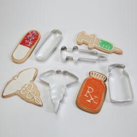Medical Cookie Cutter Set, Set of 4