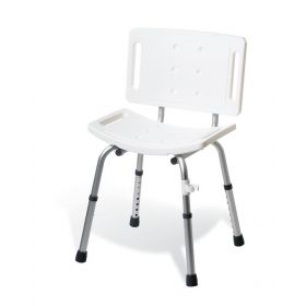 Basic Knockdown Shower Chair with Back G30402MH