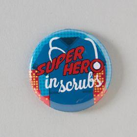 Super Hero Badge Reel Cover