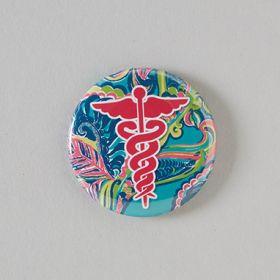 Caduceus Badge Reel Cover