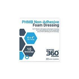 "PHMB Foam Dressing, Non-Border, 4"" x 4"""