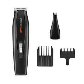 Conair GMT175R All-in-One Battery Operated Beard and Mustache Trimmer