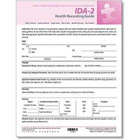 IDA-2 Health Recording Guide (25)