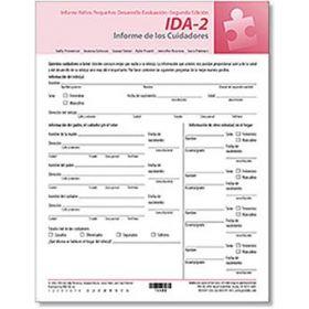 IDA-2 Parent Report FormsSpanish (25)