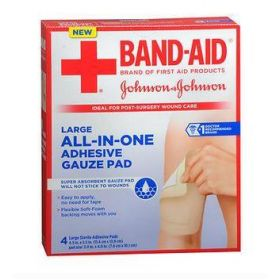 All-In-One Adhesive Gauze Pads JIP371166282