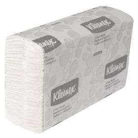 Kleenex C-Fold Towels, White, 150/Pack