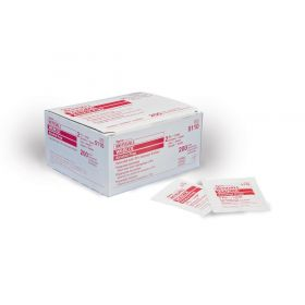 WEBCOL Alcohol Prep Pads, Sterile, 2-Ply, Size M