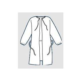 ProVent 7000 Wrap-Around Gowns by KapplerKPILS112WH2X